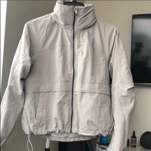 Lululemon Lab Jacket with hideaway hood